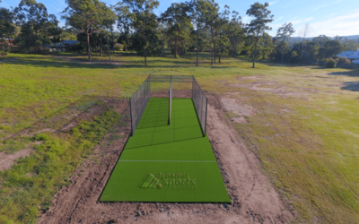 With a new cricket practice wicket facility – students are set to get active!