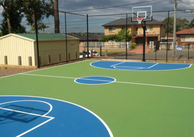 Mini Basketball Court – Smithfield Scouts, NSW