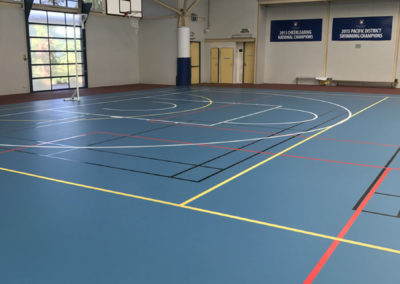 Multi-sport Courts – Canterbury College, QLD