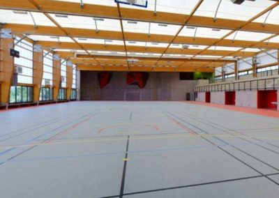 Covered multi-sport court