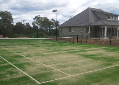 Tennis Court, Glenorie, NSW