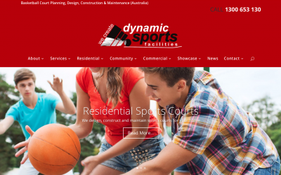 New website makes it easier to create your ultimate sports facility