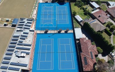 Award winners – residential and commercial multisport courts