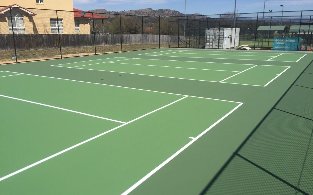 New hot shots courts for Jerrabomberra
