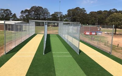 New cricket nets for Tahmoor Cricket Club