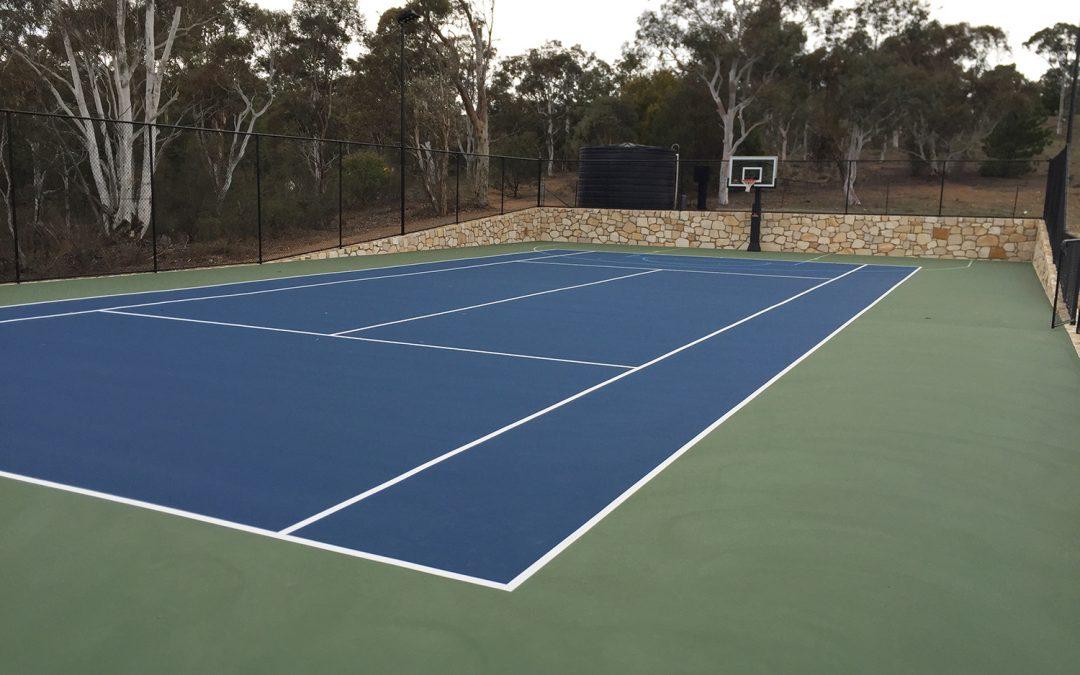 Grand Design Tennis Court Dynamic Sports Facilities Australia