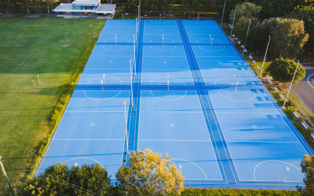 New netball courts for North Gold Coast