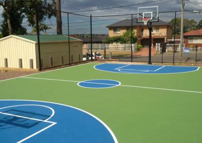 Mini Basketball Court – Smithfield Scouts, NSW