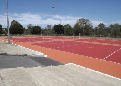 Netball Courts – Underwood Park Netball, QLD