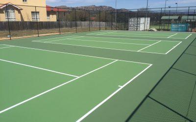 New hot shots courts for Jerrabomberra